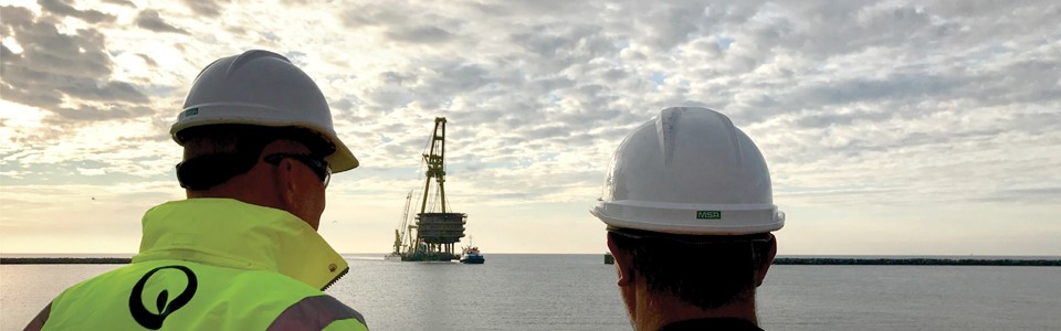 Decommissioning Offshore Platform